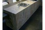 Thin Slate Stone Veneer - Kitchen Platform 2